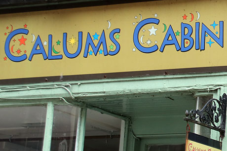 See details for Calums Cabin Charity Shop instead